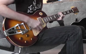 Walsh Guitars aged LP model guitar DEMO PRT 3