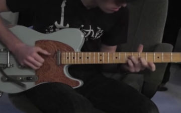 Walsh Guitars TE model guitar demo PRT 1