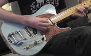 Walsh Guitars TE model guitar demo PRT 3