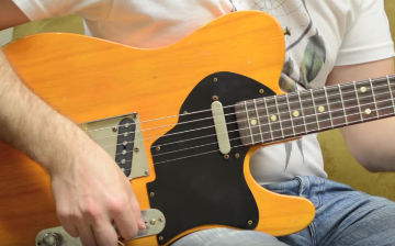 Walsh Guitars Butterscotch Kavod demo