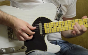 Walsh Guitars Ghost White Kavod Demo