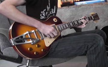Walsh Guitars aged LP model guitar DEMO PRT 1