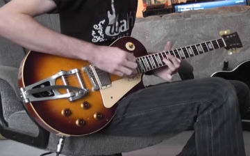 Walsh Guitars aged LP model guitar DEMO PRT 2